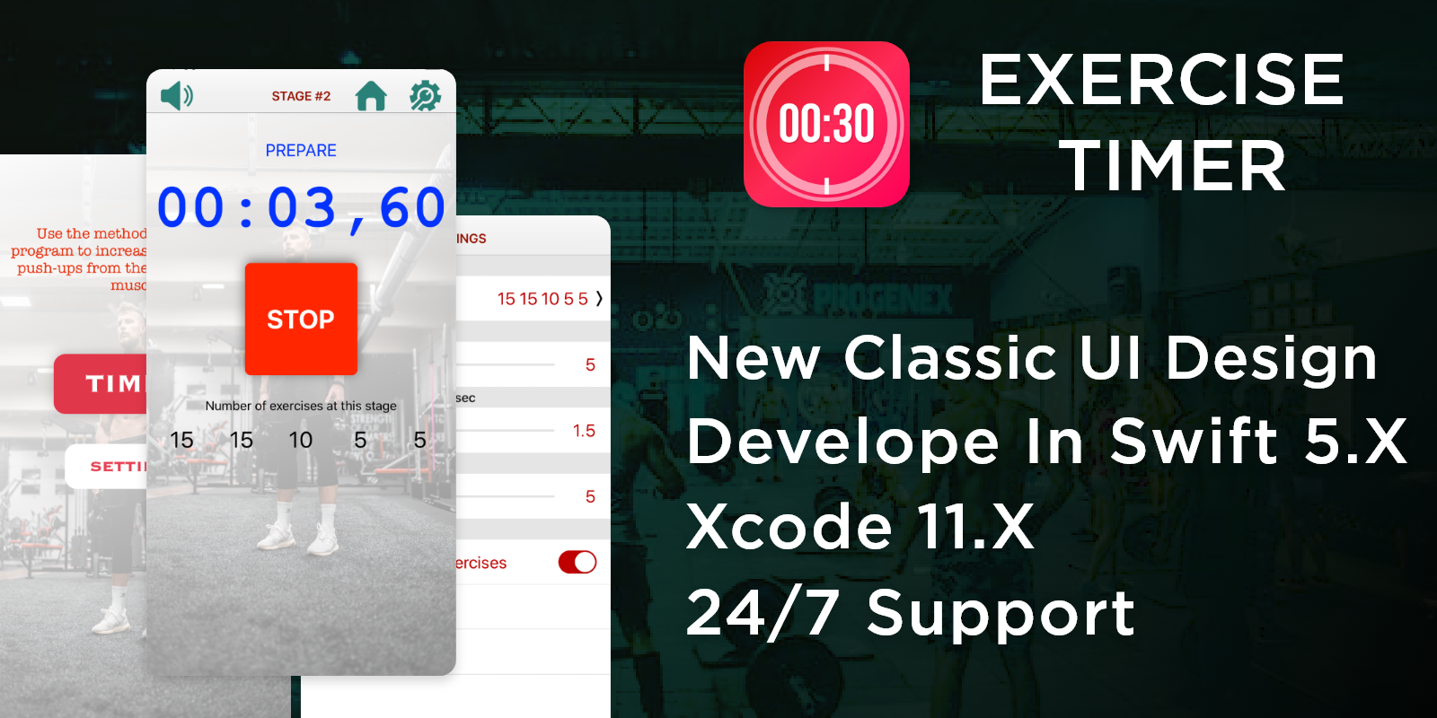 Timer - Exercise Timer - iOS Source Code - 2